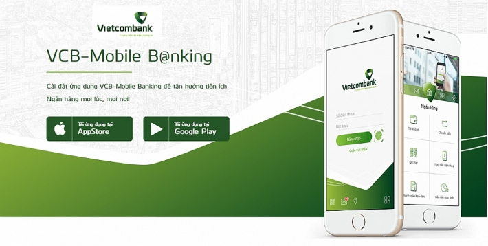 ung dung VCB Mobile Banking